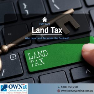 Land Tax under the contract